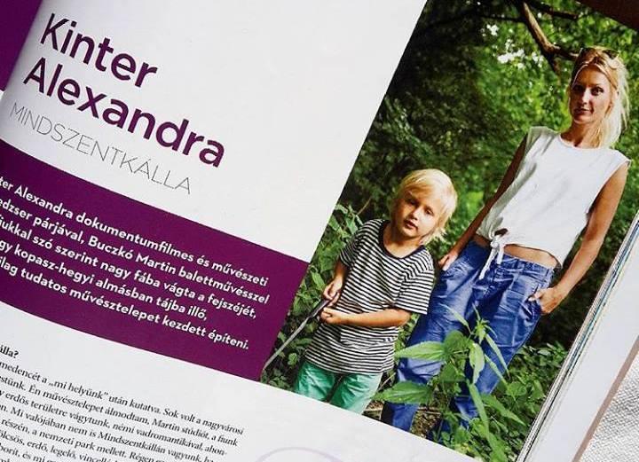 """""""Itt akarjuk valóra váltani az álmainkat."""" - Kinter Alexandra az Északipart magazinban"""