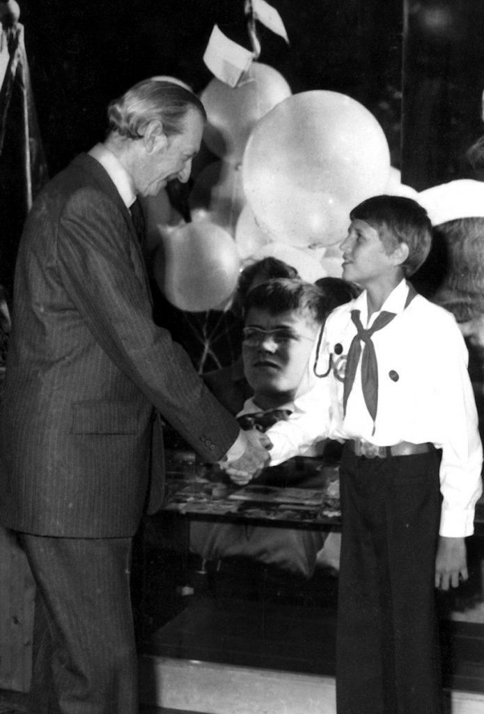 20-Kurt Waldheim ENSZ főtitkár látogatása a zánkai Múzeumban-1979